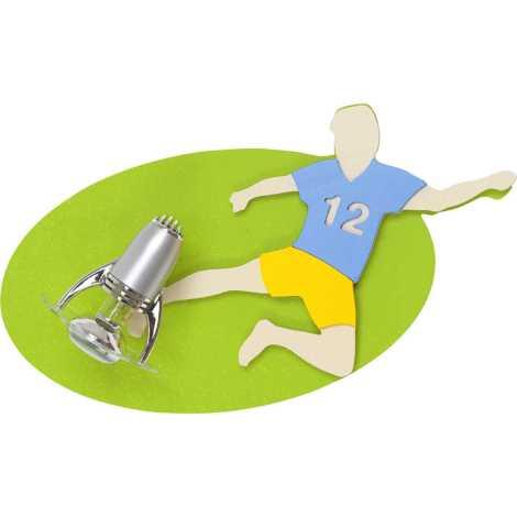 Nowodvorski 4712 - Dětské bodové svítidlo FOOTBALL 1xE14/40W
