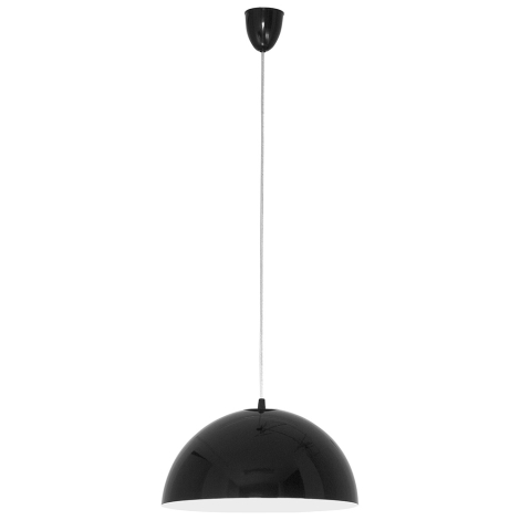 Nowodvorski 4838 - Lustr na lanku HEMISPHERE BLACK-WHITE S - 1xE27/100W/230V