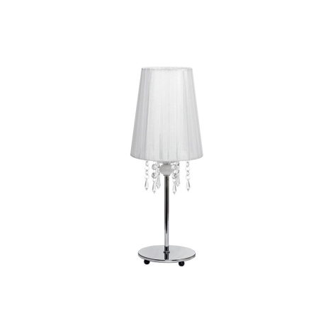 Nowodvorski 5263 - Stolní lampa MODENA WHITE I B - 1xE14/40W/230V