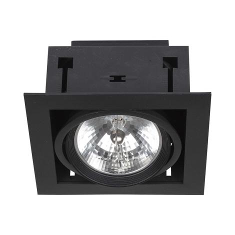 Nowodvorski 6303 - Podhledové svítidlo DOWNLIGHT BLACK 1xAR111/50W/12V