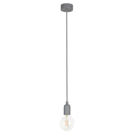 Nowodvorski 6398 - Závěsné stropní svítidlo SILICONE 1xE27/60W/230V