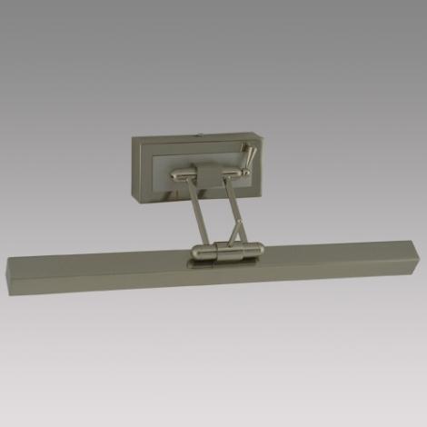 Obrazové svítidlo PICASSO 1xG5/8W/230V matný chrom/chrom