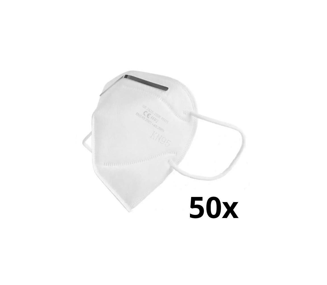 Sixtol Respirátor KN95 / FFP2 50 ks