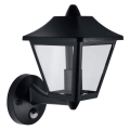 Osram - LED-E27/9W IP44 Venkovní nástěnné svítidlo se senzorem ENDURA 1xE27/9W/230V
