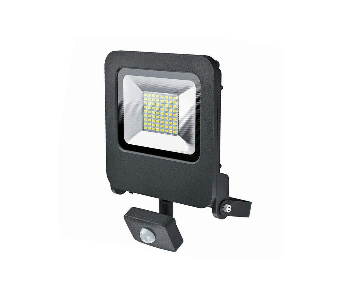 Osram Osram - LED Venkovní reflektor se senzorem ENDURA LED/50W/240V IP44 černý IP44 P22501
