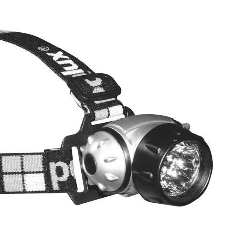 Panlux CSV-7L - LED čelovka MONTE LED 7xLED/3xAAA