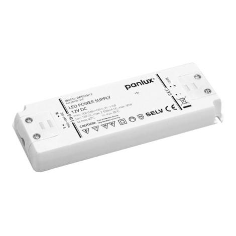 Panlux DRT030/12 - Elektrický transformátor LED DRIVER 12V 30W/12V