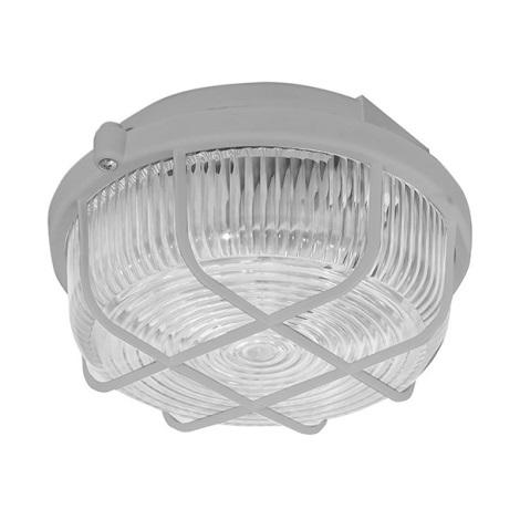Panlux SKP-100/S - Venkovní stropní svítidlo KRUH 1xE27/100W/230V