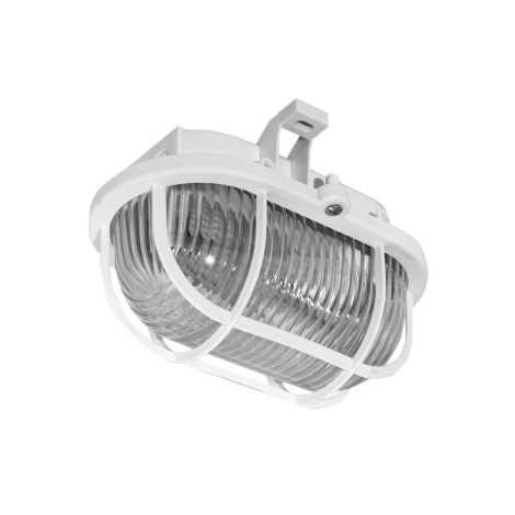 Panlux SOP-60/B - Venkovní stropní svítidlo OVAL 1XE27/60W/230V