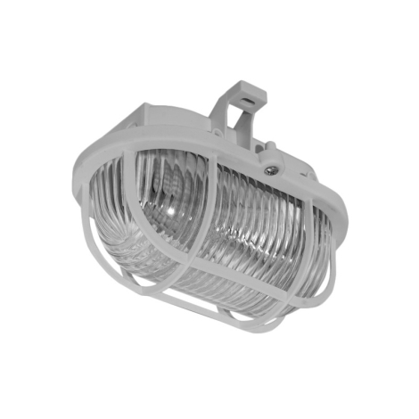 Panlux SOP-60/S - Venkovní stropní svítidlo OVAL 1XE27/60W/230V