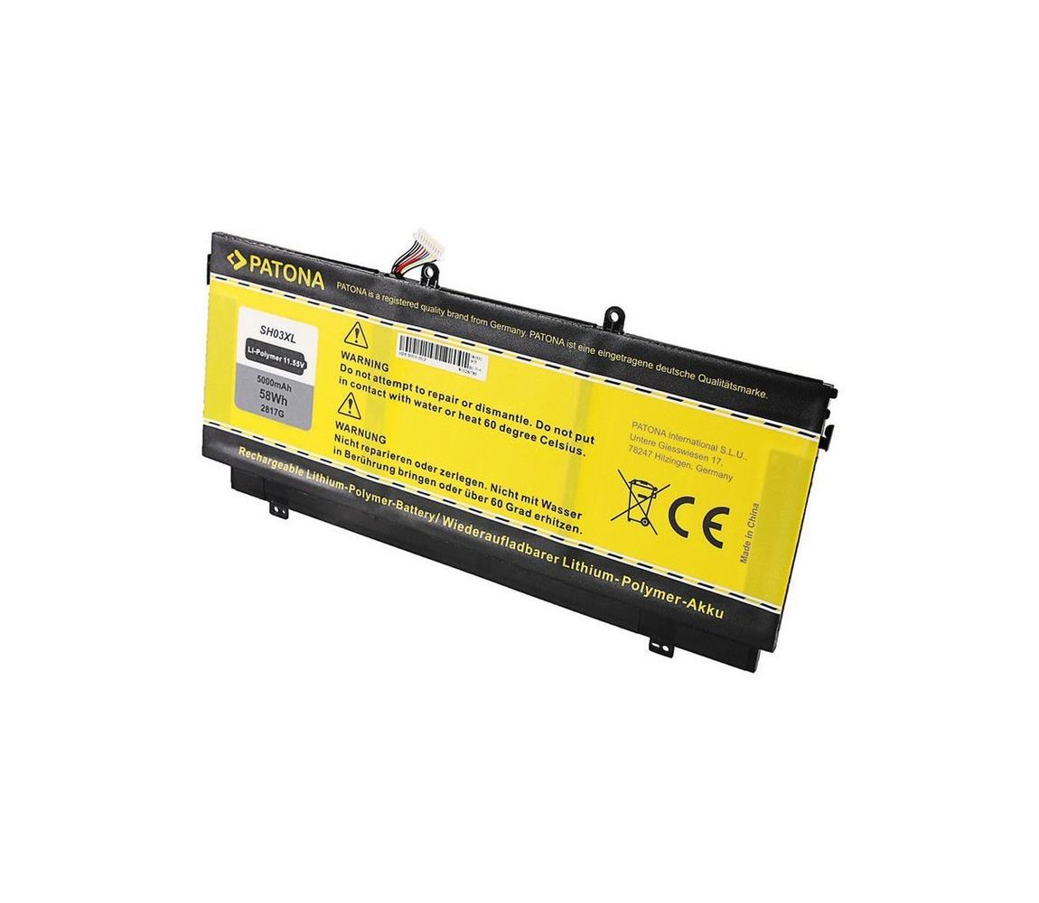 PATONA PATONA - Baterie HP Comp. Spectre X3 5000mAh Li-pol 11,55V SH03 IM0560