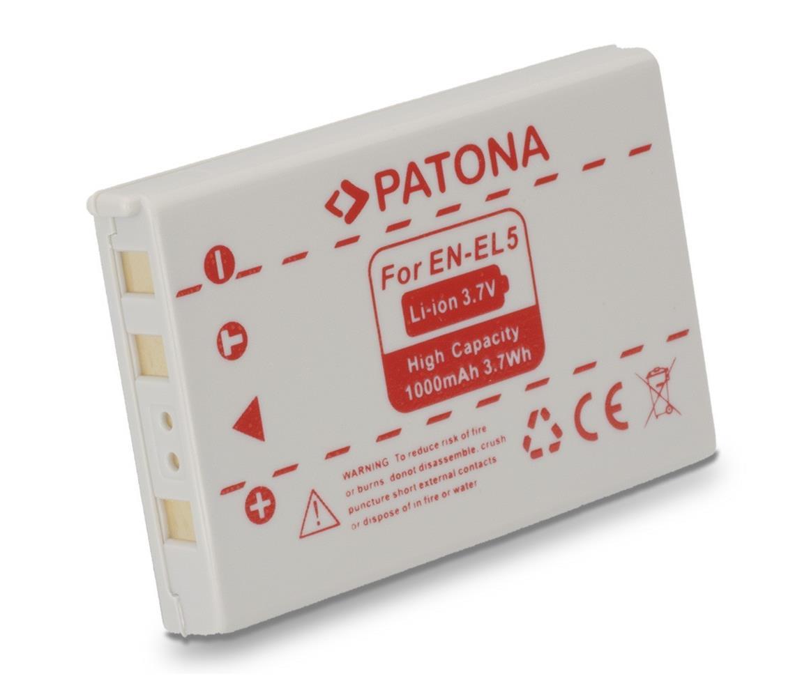 PATONA PATONA - Baterie Nikon EN-EL5 1000mAh Li-Ion IM0333