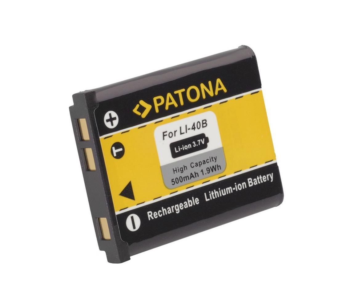 PATONA PATONA - Baterie Olympus Li-40B / Li-42B 500mAh Li-Ion IM0329