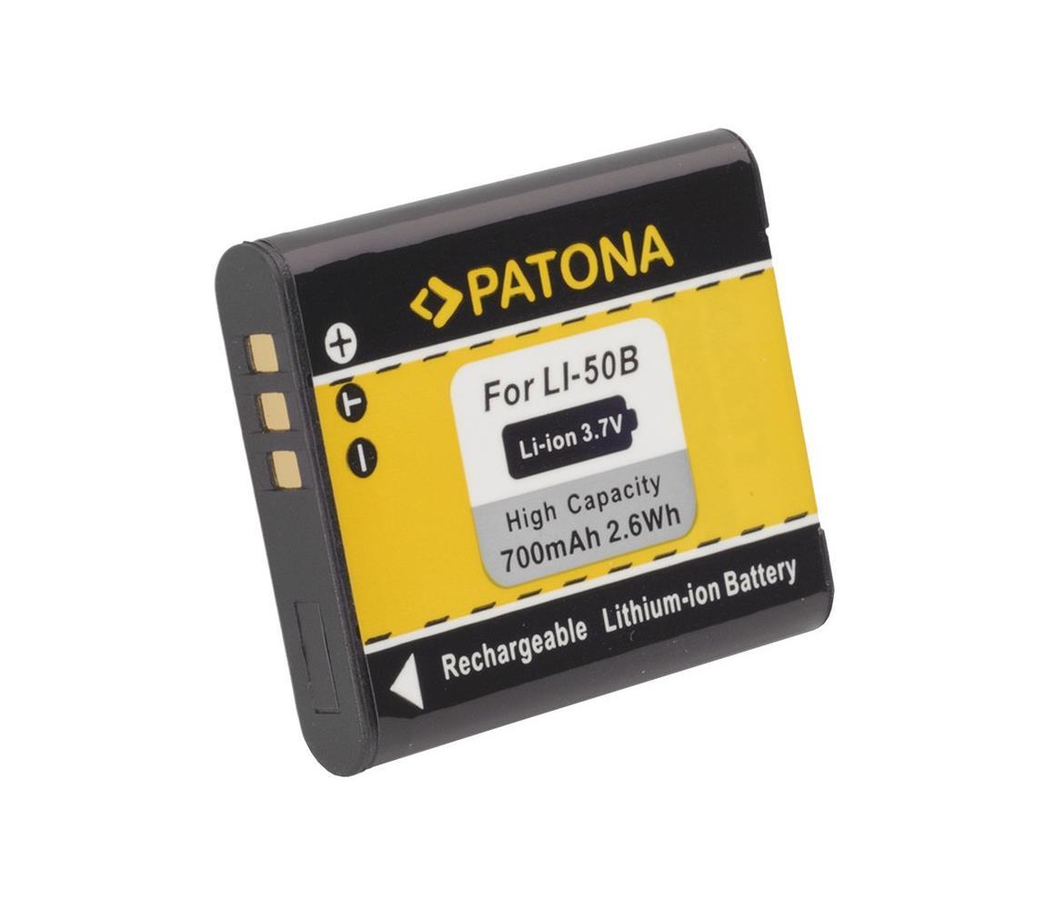 PATONA PATONA - Baterie Olympus Li-50B 700mAh Li-Ion IM0330