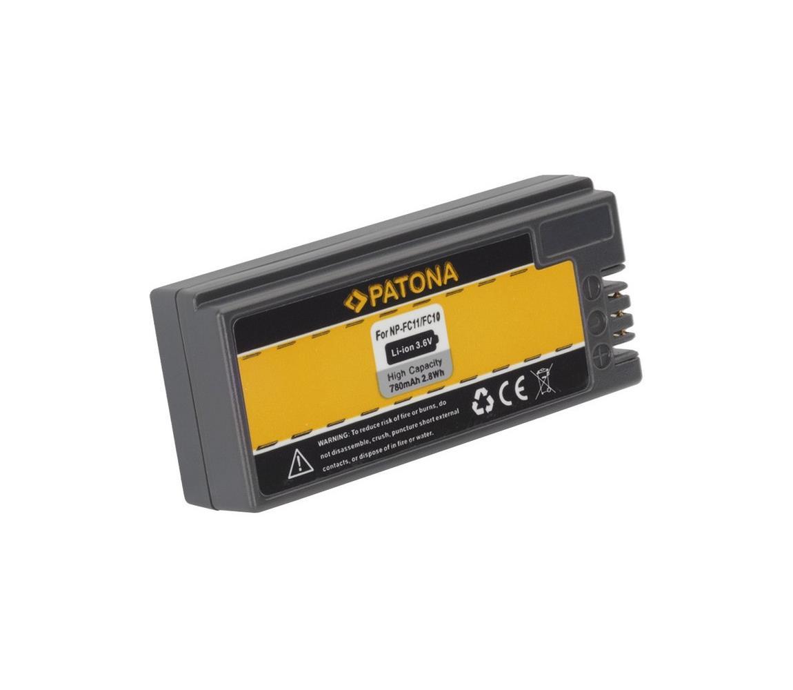 PATONA PATONA - Baterie Sony NP-FC10/11 780mAh Li-Ion IM0340
