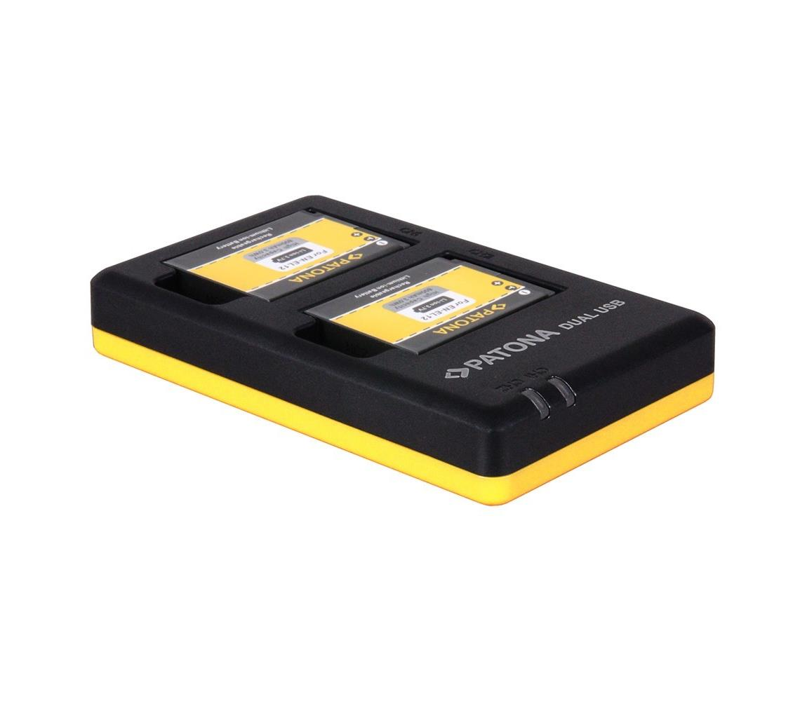 PATONA PATONA - Nabíječka Foto Dual Quick Nikon EN-EL12 USB IM0648