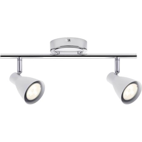 Paulmann 66554 - LED Bodové svítidlo 2 SIMPLE 2xGU10/3,5W/230V