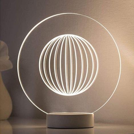 Paulmann 79531 - LED Stolní lampa YARN LED/3W/230V