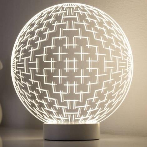 Paulmann 79532 - LED Stolní lampa BASIC LED/3W/230V