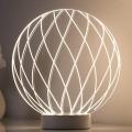 Paulmann 79534 - LED Stolní lampa MESH LED/3W/230V