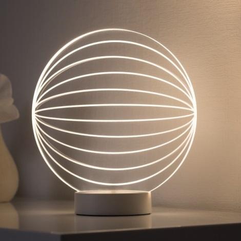 Paulmann 79537 - LED Stolní lampa TWINE LED/3W/230V