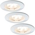 Paulmann 927.55 - SADA 3x LED/6,8W IP44 Koupelnové podhledové svítidlo COIN 230V