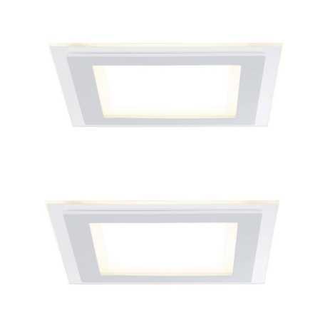 Paulmann 92706 - SADA 2xLED/7,5W Stmívatelné podhledové svítidlo DECODICE 230V
