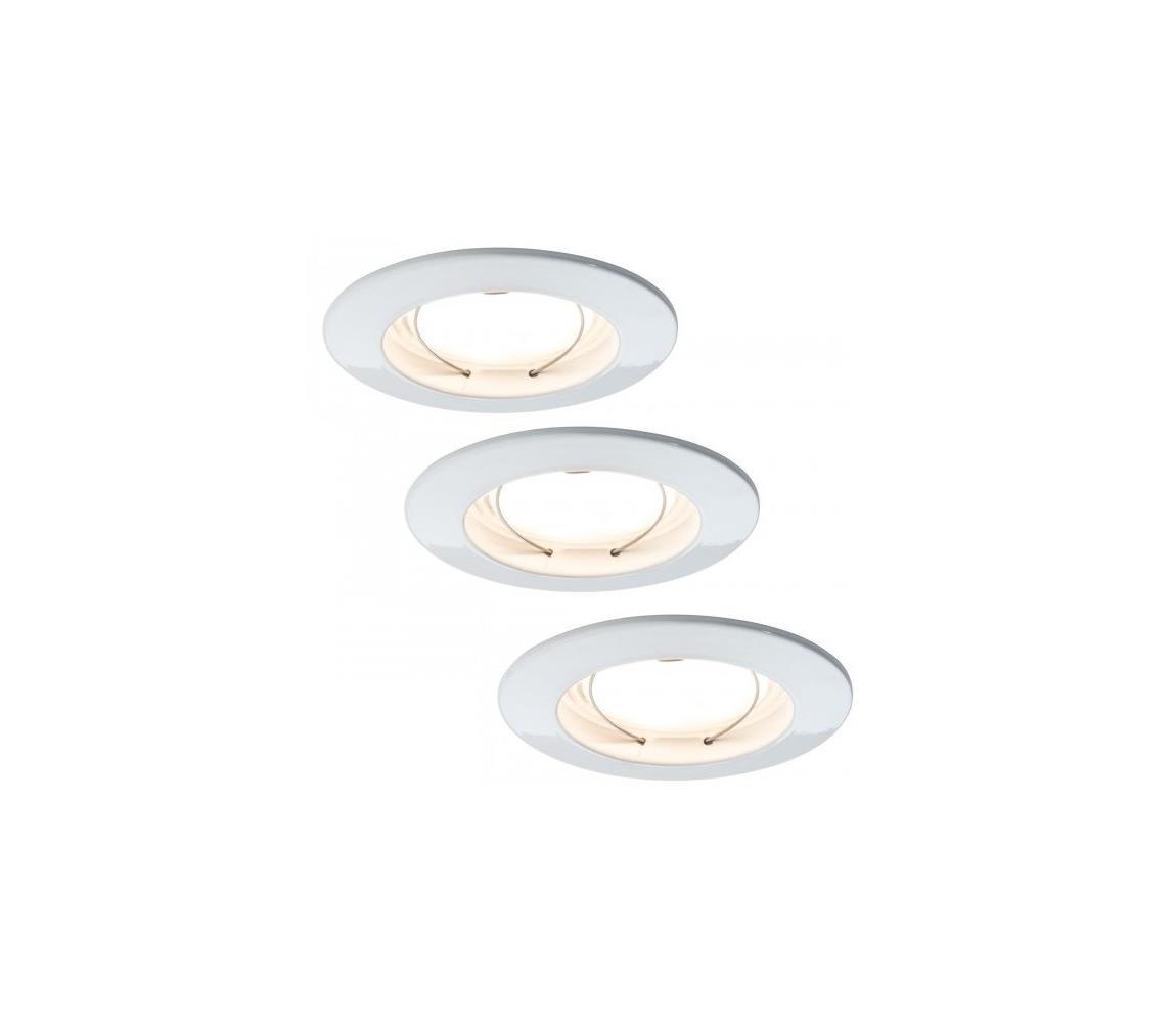 Paulmann Paulmann 92721 - SADA 3xLED/6,8W IP44 Koupelnové podhledové svítidlo COIN 230V W1394