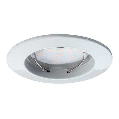 Paulmann 92754 - LED/6,8W IP44 Koupelnové podhledové svítidlo COIN 230V