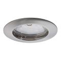 Paulmann 92756 - LED/6,8W IP44 Koupelnové podhledové svítidlo COIN 230V