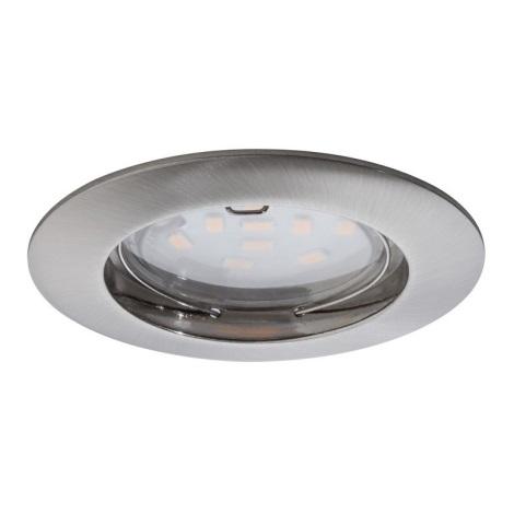 Paulmann 92756 - LED/6,8W Koupelnové podhledové svítidlo COIN 230V IP44