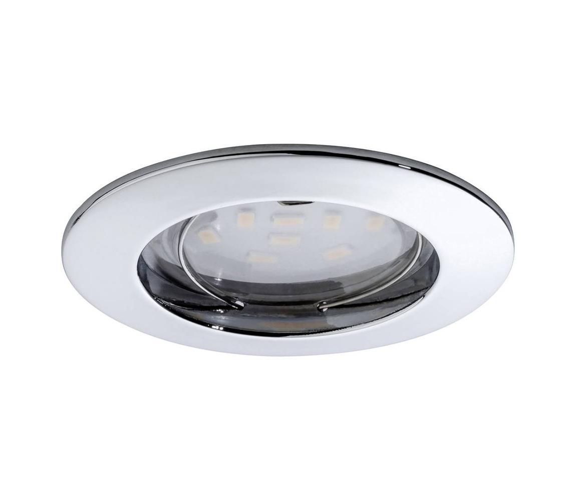 Paulmann Paulmann 92758 - LED/6,8W Koupelnové podhledové svítidlo COIN 230V IP44 W0656