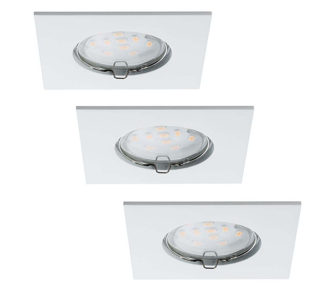 Paulmann Paulmann 92760 - SADA 3xLED/6,8W Koupelnové podhledové svítidlo COIN 230V IP44 W0564