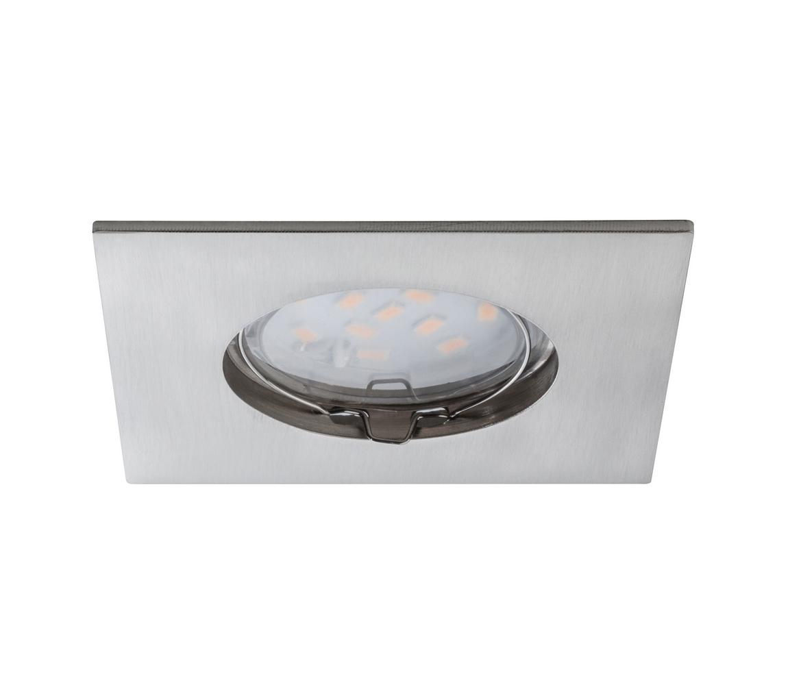Paulmann Paulmann 92761 - LED/6,8W Koupelnové podhledové svítidlo COIN 230V IP44 W0523