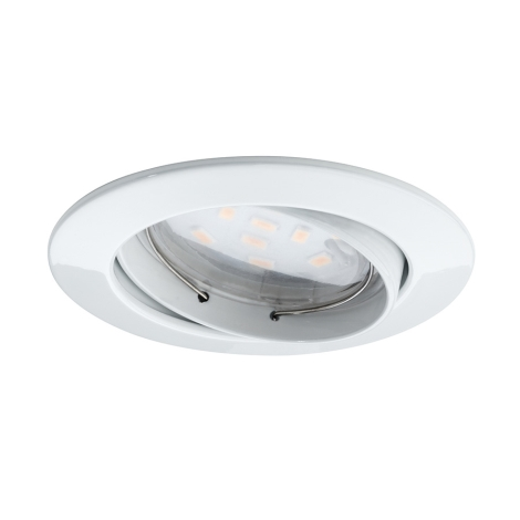 Paulmann 92764 - LED koupelnové podhledové svítidlo LED/6,8W/230V