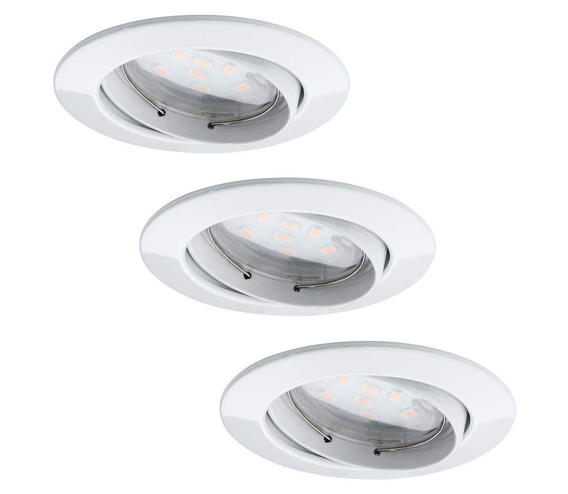 Paulmann Paulmann 92765 - SADA 3x LED Podhledové svítidlo COIN 3xLED/6,8W/230V bílá W0562