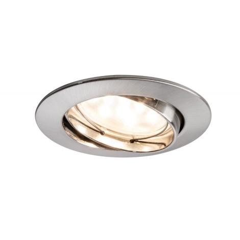 Paulmann 92767 - LED/6,8W Koupelnové podhledové svítidlo COIN 230V