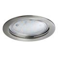 Paulmann 92782 - LED/14W Stmívatelné koupelnové podhledové svítidlo COIN 230V IP44