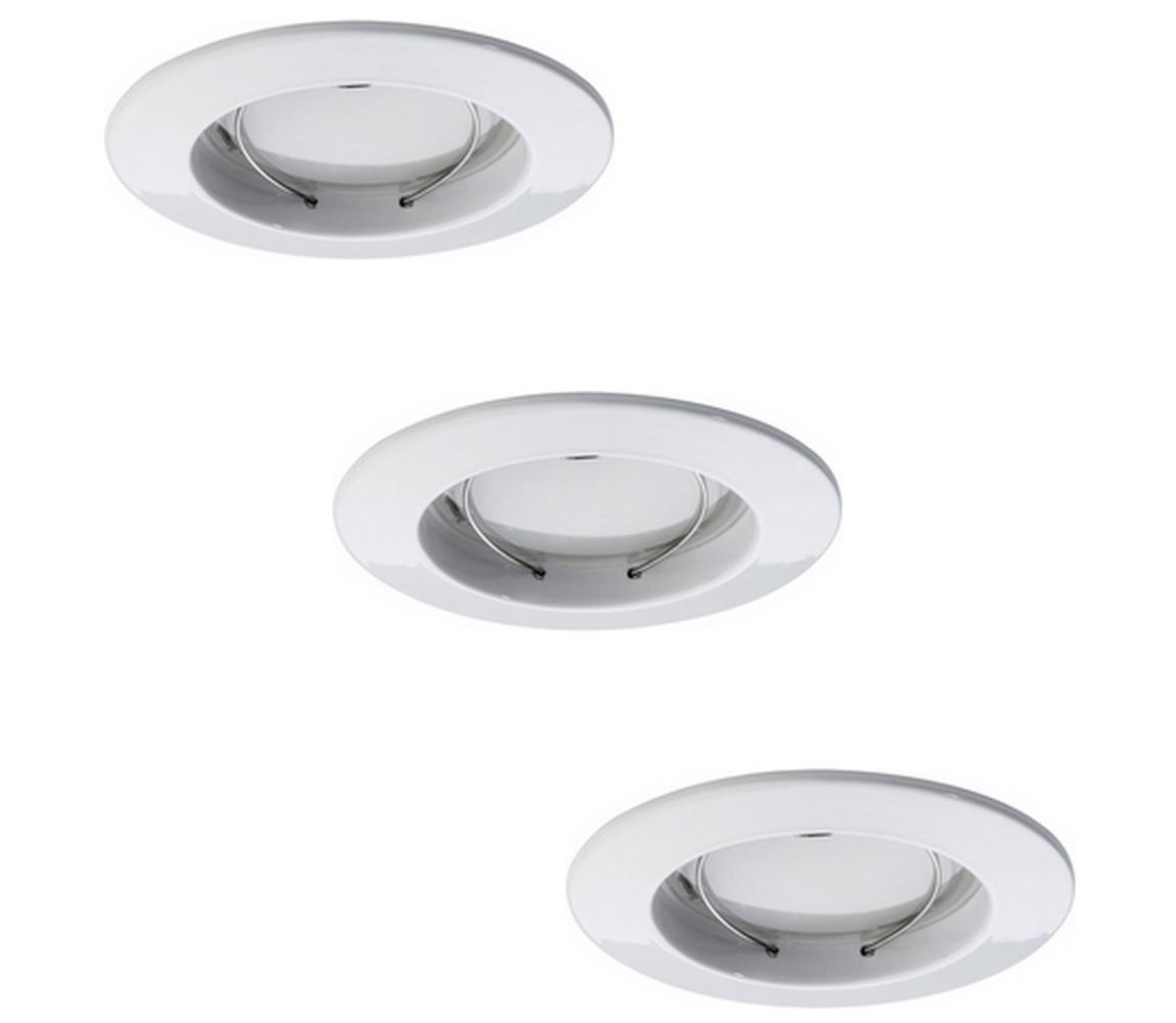 Paulmann Paulmann 92823 - SADA 3xLED/7W Stmívatelné koupelnové podhledové svítidlo COIN 230V IP44 W0664