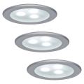 Paulmann 98351 - SADA 3xLED/3W Podhledové svítidlo MICRO LINE 230V