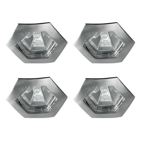 Paulmann 99567 - SADA 4xGU5,3/35W IP44 Koupelnové podhledové svítidlo PREMIUM 230V/12V
