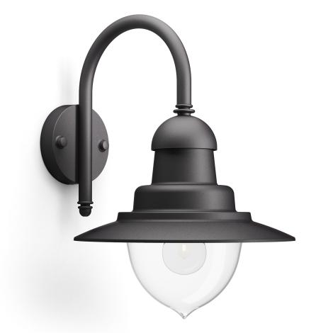 Philips 01652/30/16 - Venkovní nástěnné svítidlo MYGARDEN RAINDROP 1xE27/53W