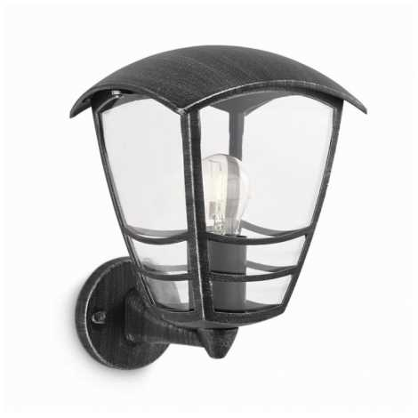 Philips 15460/54/16 - Venkovní nástěnné svítidlo STREAM 1xE27/60W/230V