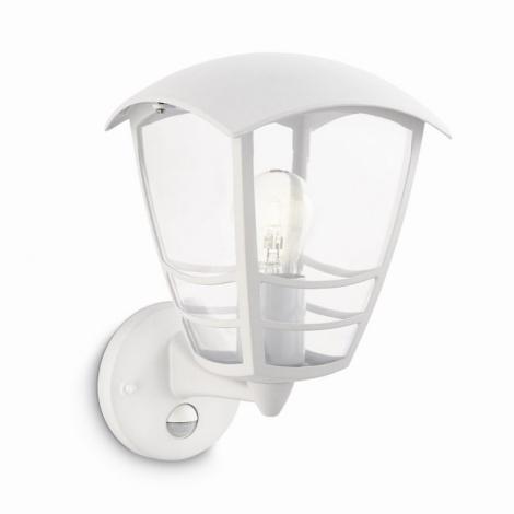 Philips 15468/31/16 - Venkovní nástěnné svítidlo s čidlem STREAM 1xE27/60W/230V