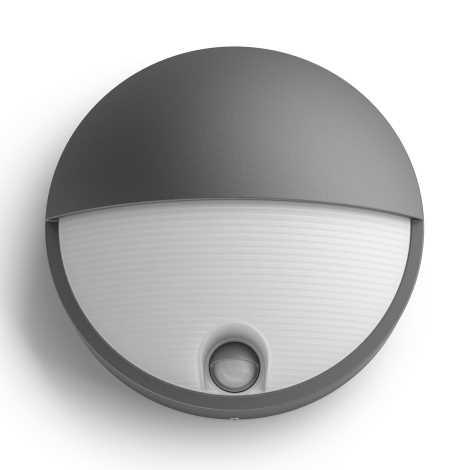 Philips 16456/93/P3 - LED venkovní svítidlo s čidlem MYGARDEN CAPRICORN LED/6W