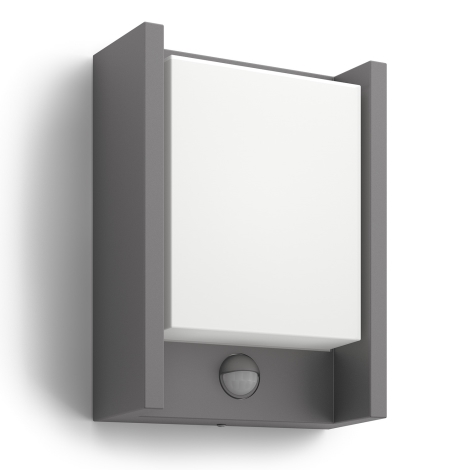 Philips 16461/93/16 - LED venktovní svítidlo s čidlem MYGARDEN ARBOUR 1xLED/6W