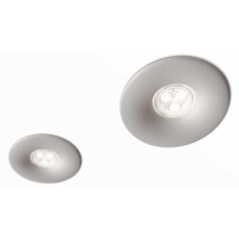 Philips 16811/87/16 - SADA 2x LED koupelnové podhledové svítidlo LEDINO LED/7,5W/230V
