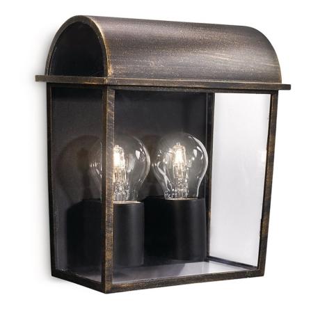 Philips 17235/42/16 - Venkovní nástěnné svítidlo MYGARDEN HARVEST 2xE27/42W/230V