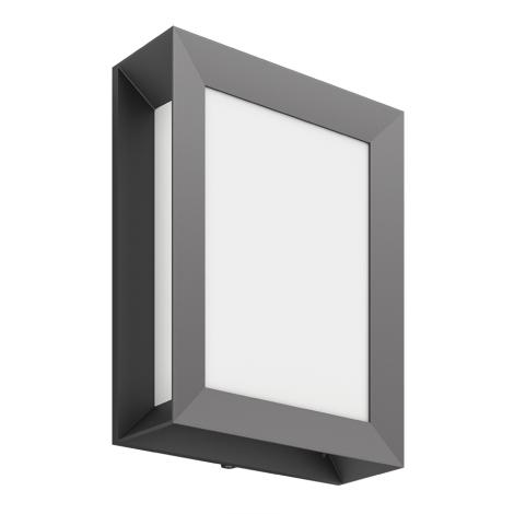 Philips 17293/93/P3 - Venkovní nástěnné svítidlo MYGARDEN KARP 1xLED/6W/230V