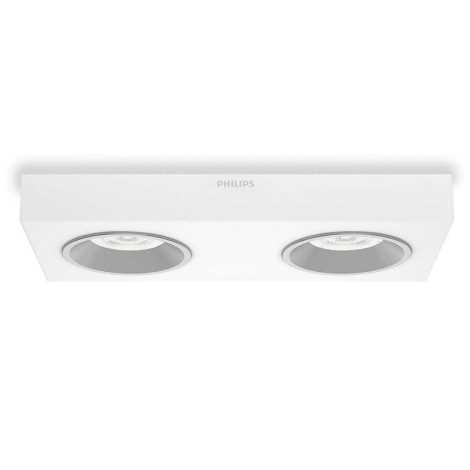 Philips 31212/31/16 - LED bodové svítidlo INSTYLE QUINE 2xLED/4,5W/230V